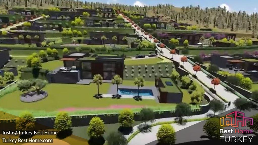 فروش ویلاهای لوکس در اورلا Urla