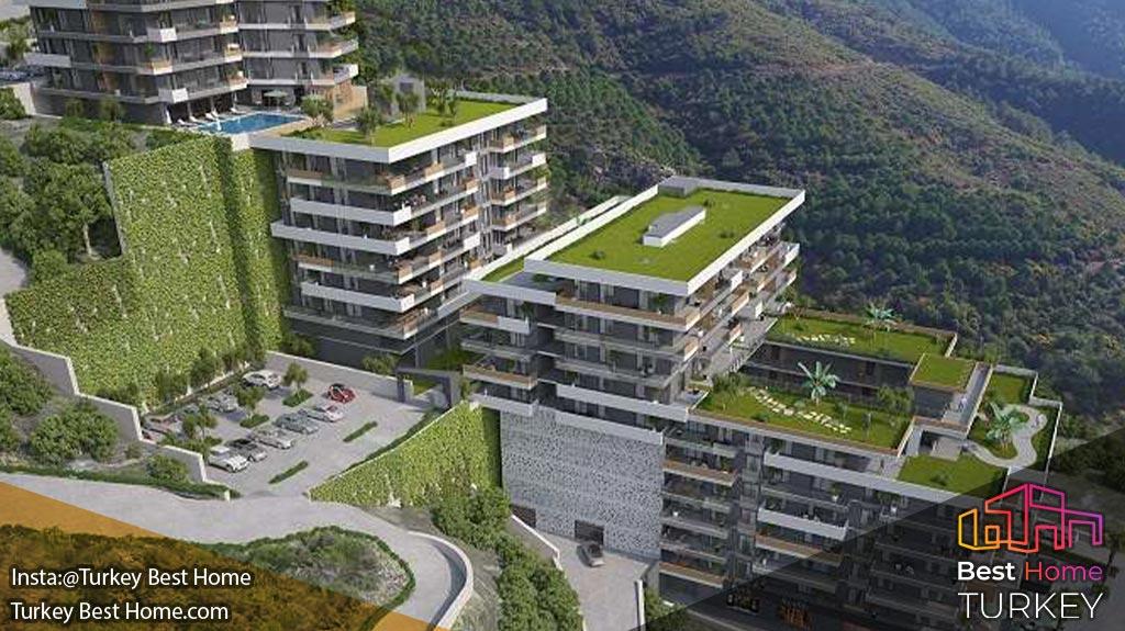 فروش آپارتمان های جدید واقع در نارلی دره Narlidere