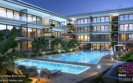 5 خانه تعطیلاتی با کانسپت هتل برای فروش در چشمه Cesme