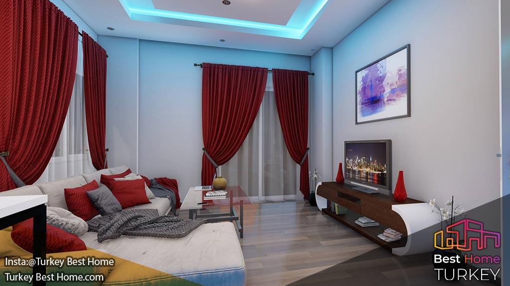 فروش آپارتمان های رو به دریا در آواسالار Avsallar با پرداخت های بدون بهره