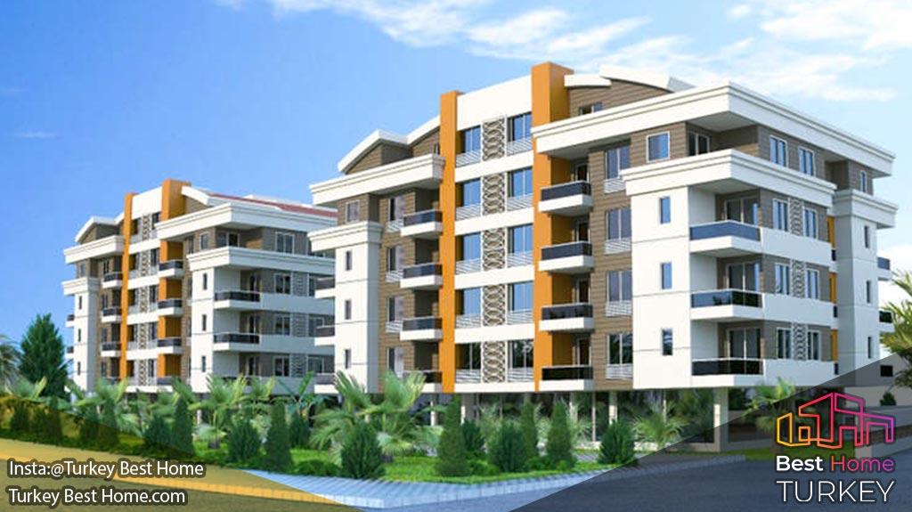 فروش آپارتمانهای جدید آنتالیا در منطقه ی هورما Hurma