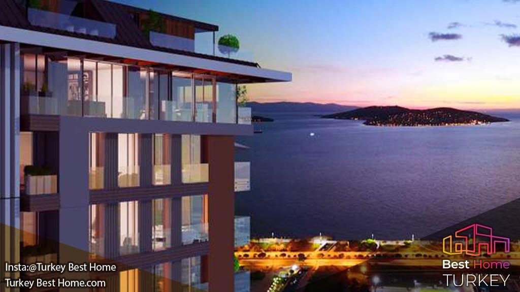 خرید ملک در پروژه ورسوس دراگوس کارتال Versus Dragos Kartal Istanbul