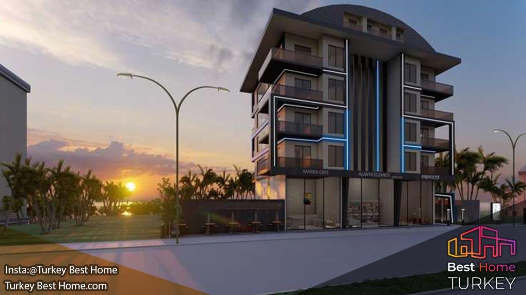 فروش بوتیک آپارتمان در کارگیجاک Kargicak با شرایط پرداخت اقساطی با 0٪ بهره