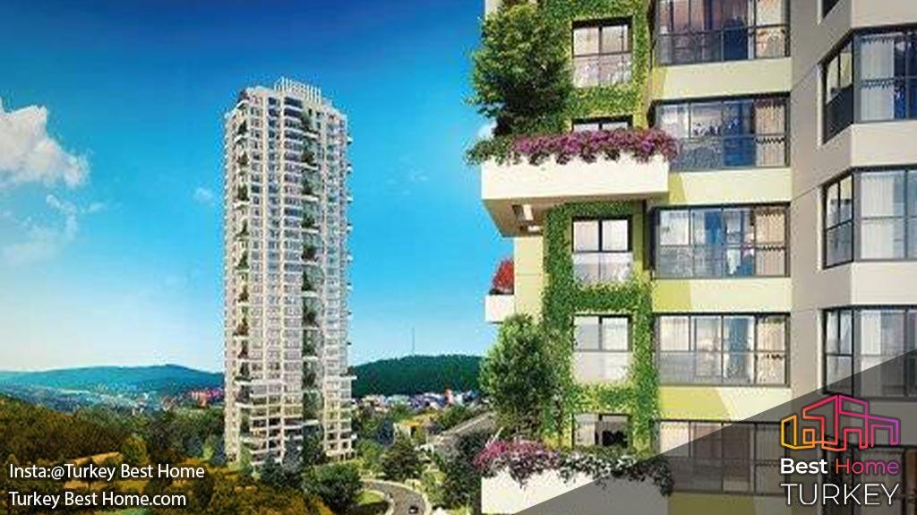 فروش آپارتمان های با نمای طبیعت در عمرانیه Umraniye، آسیا