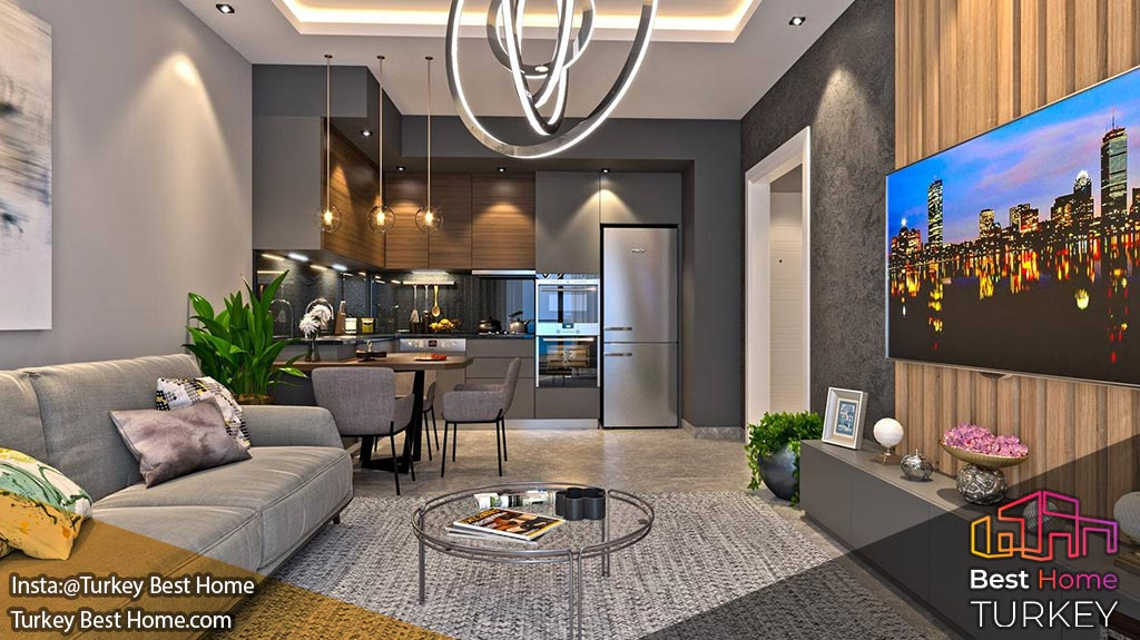 Недвижимость в Аланье на продажу со скидкой 0% - Роскошные апартаменты с видом на море в Каргыджаке