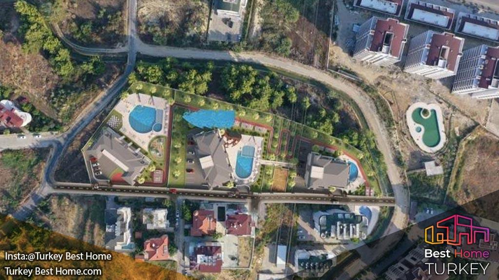 فروش آپارتمان های لوکس پانوراما با دید دریا در Avsallarآواسالار