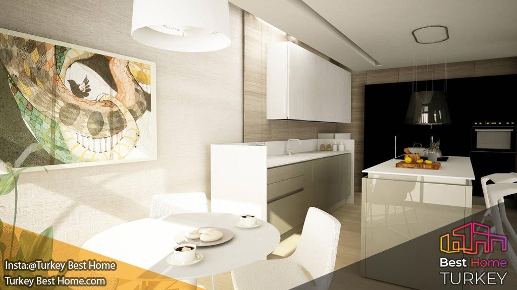 فروش آپارتمان 3 خوابه در منطقه کنیالتیKonyaalti ، آنتالیا