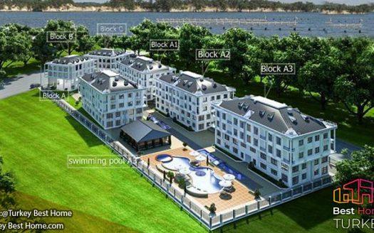 فروش آپارتمان های لوکس با ویوی دریا در Beylikduzuبیلیکدوزو
