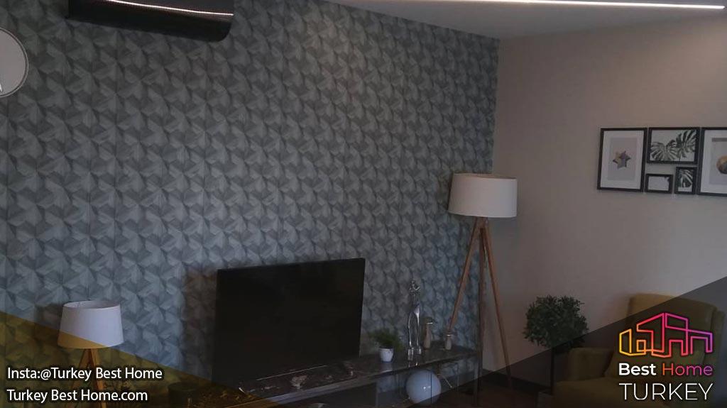 فروش آپارتمان با ویوی دریا در منطقه اسن یورت Esenyurt