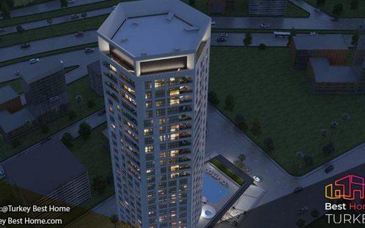 خرید ملک در برج واریانت بورنوا Varyant Tower Bornova