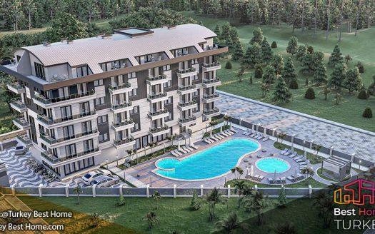 فروش آپارتمانهای لوکس آلانیا با ویوی دریا و طبیعت در اوبا Oba