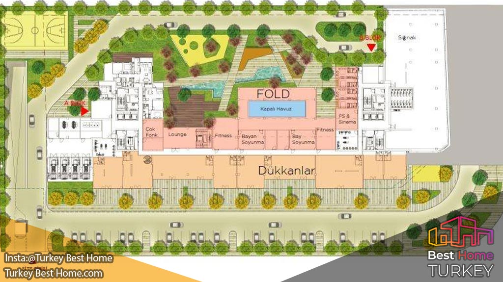 خرید ملک در پروژه نف 14 کایتحانه Nef Kağıthane 14