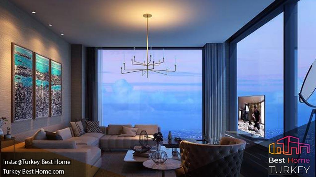 خرید ملک در هتل رزیدانس شرایتون باهچه شهیر Sheraton Residence Bahçeşehir